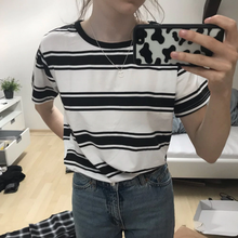 "Load image into Gallery viewer, ""ASHLEY"" STRIPED SHIRT (2 COLORS)"