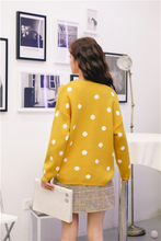 "Load image into Gallery viewer, ""SPOTTED"" SWEATER (2 COLORS)"