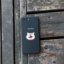 "Load image into Gallery viewer, ""KONNICHIWA SHIBA"" IPHONE CASE"