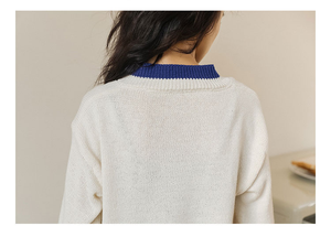 """SIMPLE DAY"" SWEATER (2 COLORS)"
