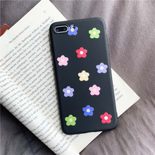 "Load image into Gallery viewer, ""MIDNIGHT FLOWERS"" IPHONE CASE"
