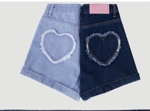 Load image into Gallery viewer, HEART RUFFLE SHORTS (2 COLORS)