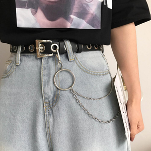 """GRUNGE GIRL"" CHAIN BELT"