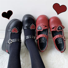 "Load image into Gallery viewer, ""VALENTINE'S LOLITA"" PLATFORM SHOES (5 COLORS)"