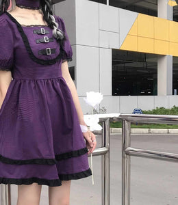 """DEEP PURPLE LOVE"" DRESS"