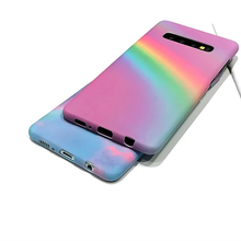 "Load image into Gallery viewer, ""PASTEL RAINBOW DAYS"" SAMSUNG GALAXY CASES"