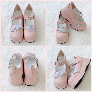 """VALENTINE'S LOLITA"" PLATFORM SHOES (5 COLORS)"