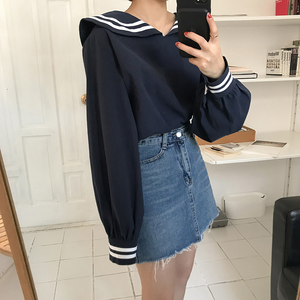 """SIMPLE SAILOR"" BLOUSE (2 COLORS)"