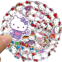 "Load image into Gallery viewer, ""HELLO KITTY WORLD"" STICKERS"