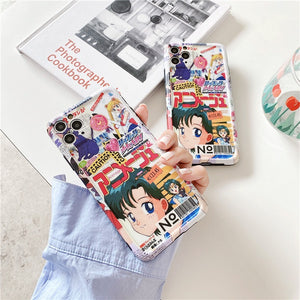 """SAILOR MOON MAGAZINE"" IPHONE CASE"