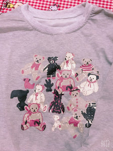 """COTTAGE BEAR FAMILY"" SWEATER"