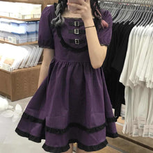 "Load image into Gallery viewer, ""DEEP PURPLE LOVE"" DRESS"