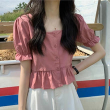 "Load image into Gallery viewer, ""SPRING LOVE"" BLOUSE (3 COLORS)"