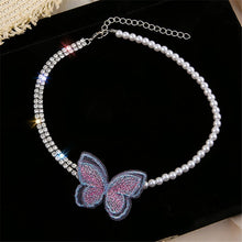 "Load image into Gallery viewer, ""BUTTERFLY LOVE"" CHOKER"