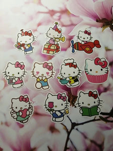 """HELLO KITTY WORLD"" STICKERS"