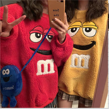 "Load image into Gallery viewer, ""M&M FEVER"" SWEATER (2 COLORS)"