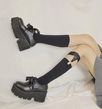 "Load image into Gallery viewer, ""MIMI"" PLATFORM SHOES"