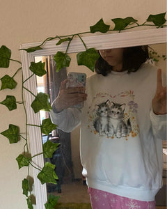 """CATS GO TO HEAVEN"" SWEATER"