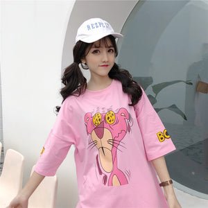 """CRAZY"" PINK PANTHER TOP (2 COLORS)"