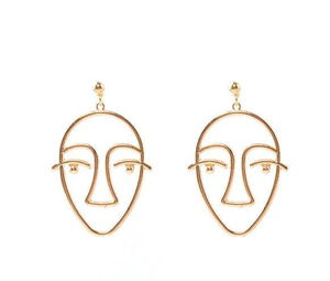 """FACES"" EARRINGS"