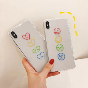 """RAINBOW MINIMALISM"" IPHONE CASE (2 DESIGNS)"