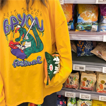 "Load image into Gallery viewer, ""BAYOU FESTIVAL"" SWEATSHIRT"