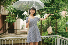 "Load image into Gallery viewer, ""PICNIC LUNCH"" DRESS (3 COLORS)"