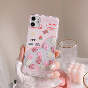 """STRAWBERRY FRIENDS"" IPHONE CASE"