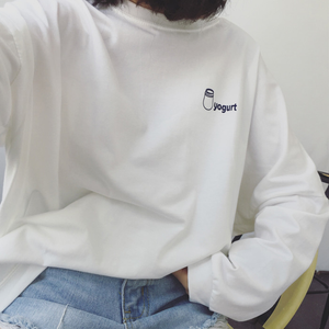 """YOGURT"" SWEATSHIRT (2 COLORS)"
