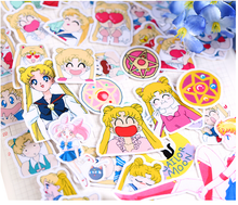 Load image into Gallery viewer, SAILOR MOON ASSORTED STICKERS