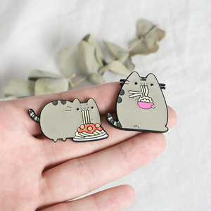 """PUSHEEN'S DINNER"" PINS"