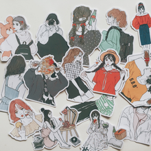 "Load image into Gallery viewer, ""ULZZANG GIRL"" STICKERS"
