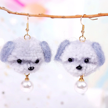 "Load image into Gallery viewer, ""PUPPY LOVE"" EARRINGS (5 COLORS)"