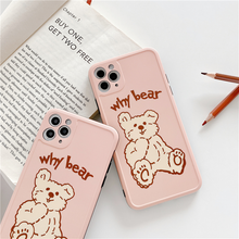 "Load image into Gallery viewer, ""WHY BEAR"" IPHONE CASE"