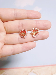 """AMBER & HAZE"" EARRINGS (2 COLORS)"