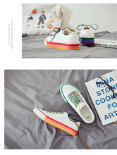 "Load image into Gallery viewer, ""RAINBOW KID"" SNEAKERS (3 COLORS)"
