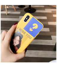 "Load image into Gallery viewer, ""I MISS YOU"" IPHONE CASE"