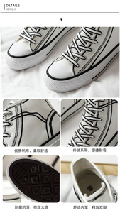 """CARTOON"" SNEAKERS (2 COLORS)"