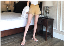 Load image into Gallery viewer, PEARL STUDDED SHORTS (3 COLORS)