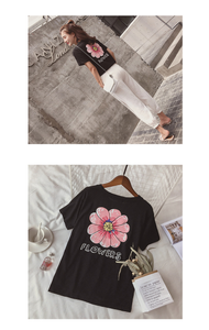 """FUN FLOWERS"" SHIRT (2 COLORS)"