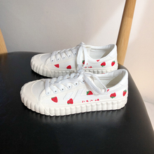 "Load image into Gallery viewer, ""SIMPLE STRAWBERRY"" SNEAKERS"