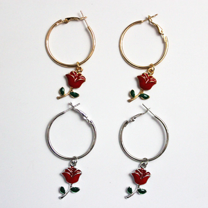 """BABY ROSE"" EARRINGS (2 COLORS)"
