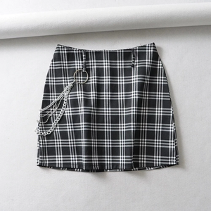 """SAVANNAH"" PLAID SKIRT"