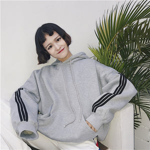 """SIMPLE"" STRIPED HOODIE (3 COLORS)"