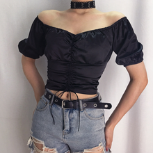 "Load image into Gallery viewer, ""LOLA"" CROP TOP"