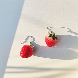 """STRAWBERRY BABY"" EARRINGS"