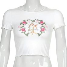 "Load image into Gallery viewer, ""SPRING ANGEL"" CROP TOP"