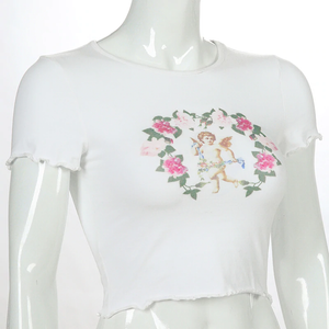 """SPRING ANGEL"" CROP TOP"