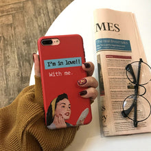 "Load image into Gallery viewer, ""I'M IN LOVE WITH ME"" IPHONE CASE"
