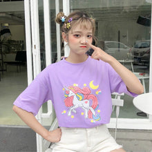 "Load image into Gallery viewer, ""UNICORN DREAMS"" SHIRT (3 COLORS)"